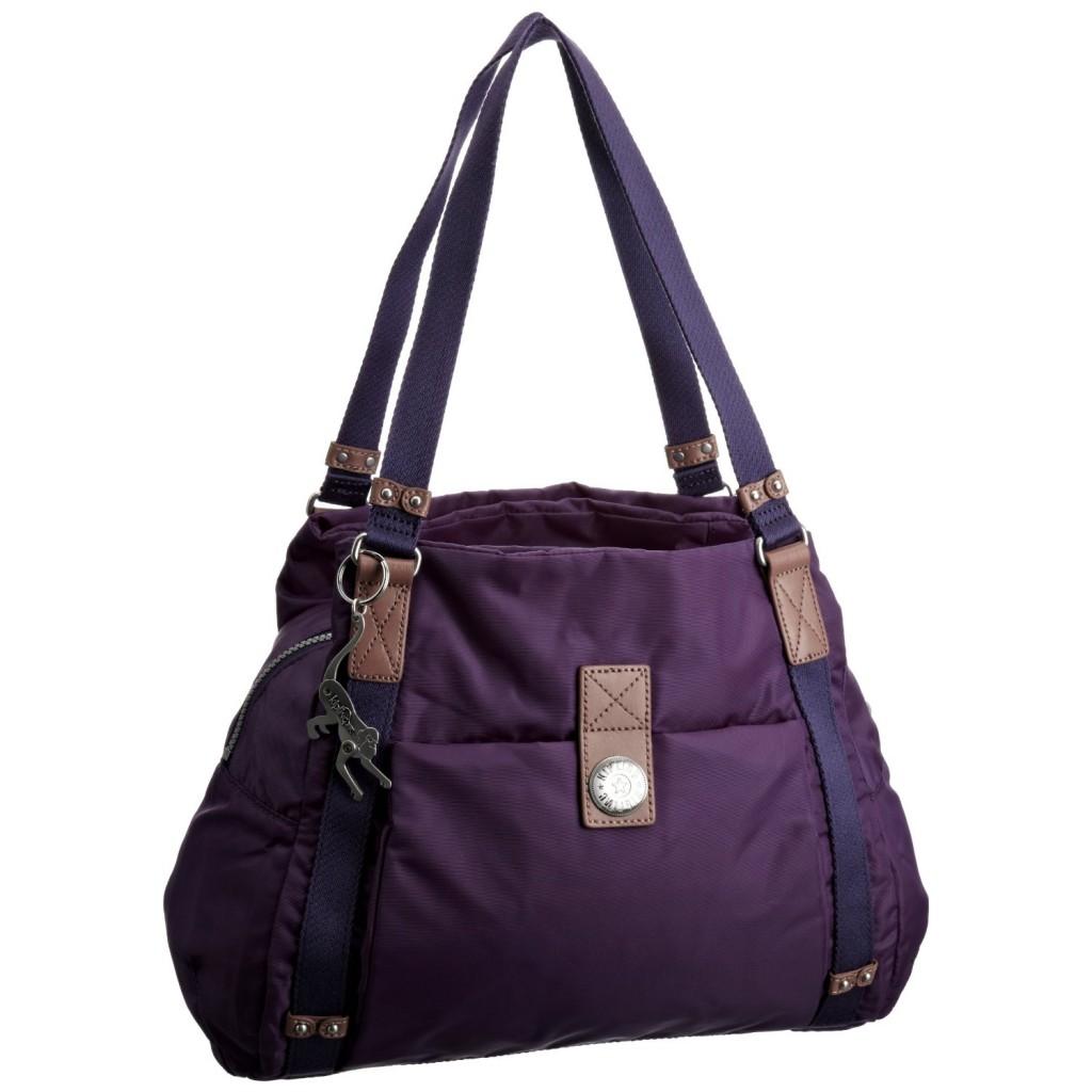 Borse A Spalla Kipling : Borsa a spalla kipling cybelle colore viola borse e