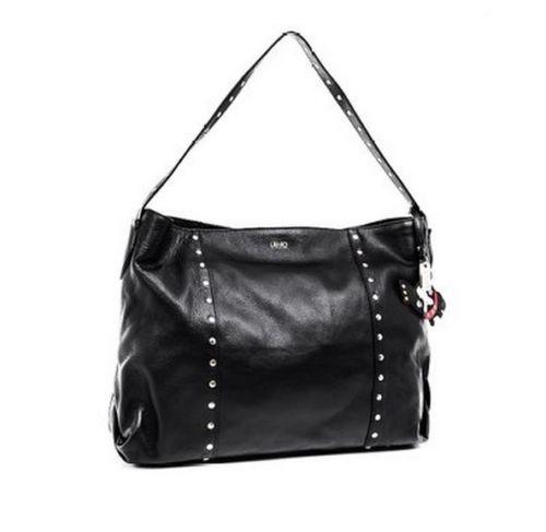 Borsa Liu jo shopping Sac Rouge Chelsea colore nera a prezzo scontato! 8a7db979194