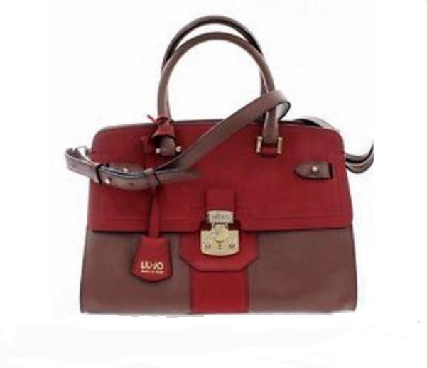 Borsa shopping Liu Jo Sac Rouge Soho colore Rosso a prezzo scontato!!! 42d092fda2a